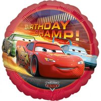 Cars Birthday Champ Heliumballong