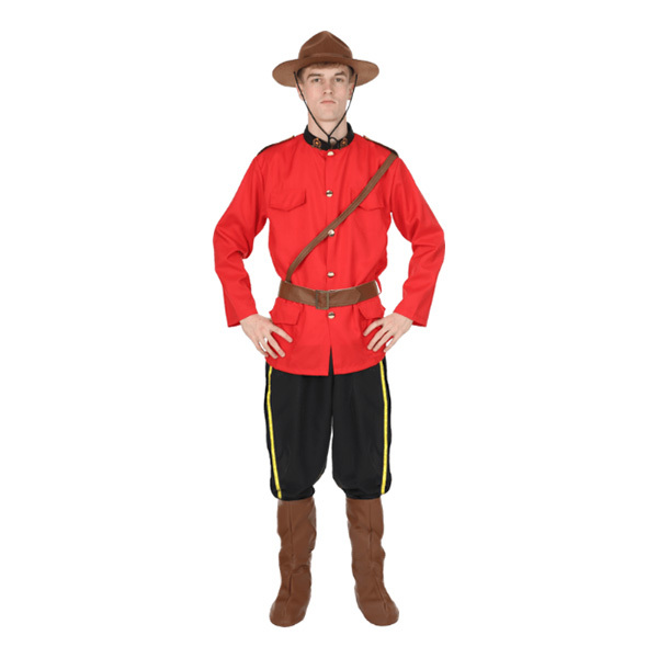 Kanadensisk Polisuniform Maskeraddräkt - Barnkalastema 44765a5ebf93a