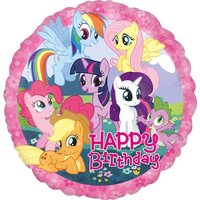 My Little Pony happy birthday heliumballong