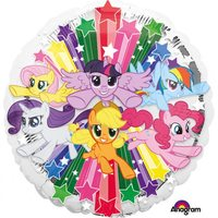 My Little Pony Rund Heliumballong