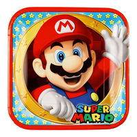 Papperstallrikar Super Mario - 8-pack
