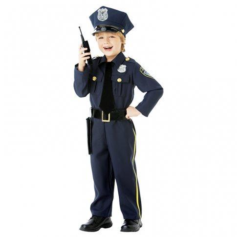 Polis maskeraddräkt barn - Barnkalastema 5844ac10e6fee